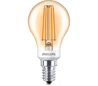 Philips Classic 8718696750865 5W E14 A+ Oro lampada LED energy-saving lamp