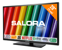 "Salora 28WSH6002 28"" HD Smart TV Nero LED TV"