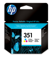 HP 351 Tri-color Inkjet Print Cartridge Ciano, Giallo cartuccia d