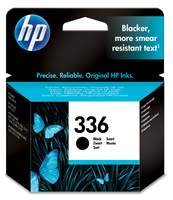 HP 336 Black Inkjet Print Cartridge Nero cartuccia d