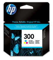HP 300 Tri-color Ink Cartridge Ciano, Giallo cartuccia d