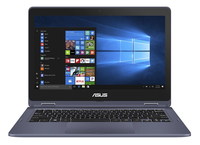 "ASUS VivoBook Flip TP202NA-EH008T 1.1GHz N3350 11.6"" 1366 x 768Pixel Touch screen Grigio Ibrido (2 in 1)"
