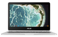 "ASUS Chromebook Flip C302CA-DH75-G 1.2GHz m7-6Y75 12.5"" 1920 x 1080Pixel Touch screen Grigio Chromebook notebook/portatile"