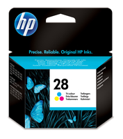 HP 28 Tri-color Inkjet Print Cartridge Ciano, Giallo cartuccia d