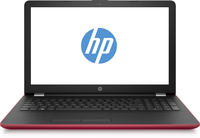 "HP 15-bs078nm 1.6GHz N3060 15.6"" 1366 x 768Pixel Rosso, Argento Computer portatile"