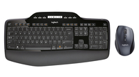 Logitech MK710 RF Wireless QWERTY Pan Nordic Nero tastiera