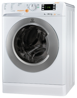 Indesit XWDE 961480X WSSS EU Carica frontale A Argento, Bianco lavasciuga