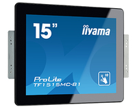 "iiyama ProLite TF1515MC-B1 15"" 1024 x 768Pixel Multi-touch Nero monitor touch screen"