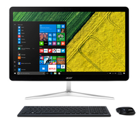 "Acer Aspire U27-880 I9918 BE 2.7GHz i7-7500U 27"" 1920 x 1080Pixel Touch screen Nero, Argento PC All-in-one"