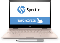 "HP Spectre x360 13-ae027tu 1.8GHz i7-8550U 13.3"" 1920 x 1080Pixel Touch screen Oro rosa Ibrido (2 in 1)"
