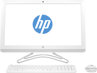 "HP 24 -e093nf 2.4GHz A9-9400 23.8"" 1920 x 1080Pixel Bianco PC All-in-one"