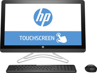"HP 24 -e086na 2.4GHz A9-9400 23.8"" 1920 x 1080Pixel Touch screen Grigio PC All-in-one"