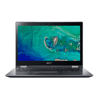 "Acer Spin SP314-51-30QQ 2.7GHz i3-7130U 14"" 1920 x 1080Pixel Touch screen Nero, Grigio Ibrido (2 in 1)"