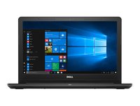 "DELL Inspiron 3567 1.6GHz N3060 15.6"" 1366 x 768Pixel Touch screen Nero Computer portatile"