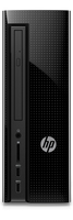 HP 260-a104ur 1.8GHz E2-7110 Mini Tower Nero PC