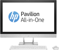 "HP Pavilion 27-r005na 2.4GHz i5-7400T 27"" 1920 x 1080Pixel Bianco PC All-in-one"