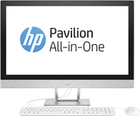 "HP Pavilion 27-r053nf 2.4GHz i5-7400T 27"" 1920 x 1080Pixel Bianco PC All-in-one"