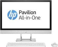 "HP Pavilion 24-r051na 2.4GHz i5-7400T 23.8"" 1920 x 1080Pixel Bianco PC All-in-one"