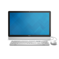 "DELL Inspiron 3464 2.5GHz i5-7200U 23.8"" 1920 x 1080Pixel Touch screen Nero, Bianco PC All-in-one"
