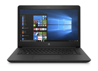 "HP 14-bp082nd 2.4GHz i3-7100U 14"" 1920 x 1080Pixel Nero Computer portatile"