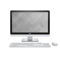 "DELL Inspiron 3264 2.4GHz i3-7100U 21.5"" 1920 x 1080Pixel Touch screen Bianco All-in-One tablet PC"