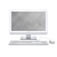 "DELL Inspiron 3263 2.4GHz i3-7100U 21.5"" 1920 x 1080Pixel Touch screen Argento, Bianco PC All-in-one"