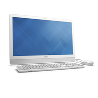 "DELL Inspiron 3452 2.4GHz i3-7100U 23.8"" 1920 x 1080Pixel Bianco PC All-in-one"