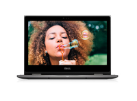 "DELL Inspiron 5378 2.7GHz i3-7130U 13.3"" 1920 x 1080Pixel Touch screen Nero, Grigio Ibrido (2 in 1)"