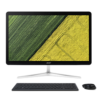 "Acer Aspire U27-880 2.5GHz i5-7200U 27"" 1920 x 1080Pixel Touch screen Nero, Argento PC All-in-one"