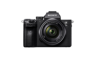 Sony a 7 III Kit fotocamere SLR 24.2MP CMOS 6000 x 4000Pixel Nero
