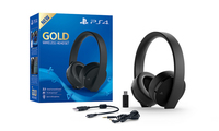 CUFFIE SONY PS4 WIRLESS STEREO GOLD