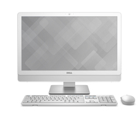 "DELL Inspiron 3464 2.4GHz i3-7100U 23.8"" 1920 x 1080Pixel Argento, Bianco PC All-in-one"
