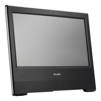 "Shuttle XPC X5063TA 2.4GHz i3-7100U 15.6"" 1366 x 768Pixel Touch screen Nero PC All-in-one All-in-One PC"