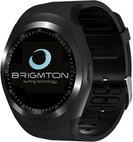 "Brigmton BWATCH-BT7 1.3"" IPS Cellulare Nero smartwatch"