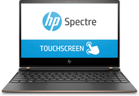 "HP Spectre 13 13-af005nd 1.6GHz i5-8250U 13.3"" 1920 x 1080Pixel Touch screen Nero, Argento Computer portatile"