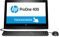 "HP ProOne 400 G3 2.7GHz i5-7500T 20"" 1600 x 900Pixel Touch screen Nero PC All-in-one"