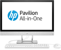 "HP Pavilion 24-r034nf 3.4GHz i3-7100T 23.8"" Bianco PC All-in-one"