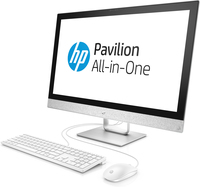 "HP Pavilion 27-r070ni 2.9GHz i7-7700T 27"" 1920 x 1080Pixel Nero, Bianco PC All-in-one"