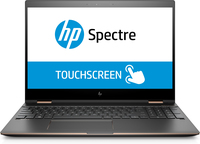 "HP Spectre x360 15-ch032ng 3.1GHz 15.6"" 3840 x 2160Pixel Touch screen Argento, Oro Ibrido (2 in 1)"