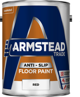 Armstead Trade Anti Slip Floor Paint Rosso