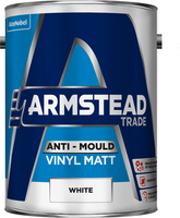 Armstead Trade Anti-Mould Vinyl Matt Bianco