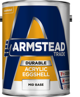 Armstead Trade Durable Acrylic Eggshell Mid Base