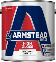 Armstead Trade High Gloss Brilliant White 2.5L