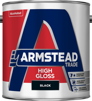 Armstead Trade High Gloss Nero 2.5L