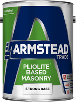 Armstead Trade Pliolite Based Masonry Paint Strong Base