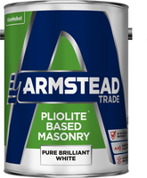 Armstead Trade Pliolite Based Masonry Paint Pure Brilliant White