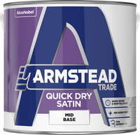 Armstead Trade Quick Dry Satin Mid Base 2.5L