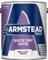 Armstead Trade Quick Dry Satin Bianco