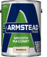 Armstead Trade Smooth Masonry Paint Magnolia