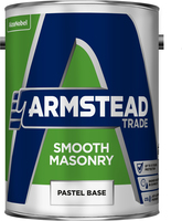 Armstead Trade Smooth Masonry Paint Pastel Base